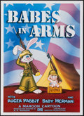 """Movie Posters:Animation, Babes in Arms (Kilian Enterprises, 1988). One Sheet (27"""" X 41"""") SS. Animation.. ..."""
