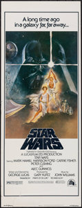 """Movie Posters:Science Fiction, Star Wars (20th Century Fox, 1977). Insert (14"""" X 36""""). Science Fiction.. ..."""