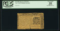 Colonial Notes:New York, New York August 13, 1776 $1/4 PCGS Apparent Very Good 10.. ...
