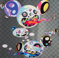 Takashi Murakami (b. 1962) Parallel Universe, 2014 Offset lithograph with colors on wove paper 26