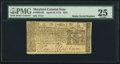 Colonial Notes:Maryland, Maryland April 10, 1774 $2/3 PMG Very Fine 25.. ...