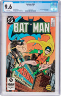 Modern Age (1980-Present):Superhero, Batman #368 (DC, 1984) CGC NM+ 9.6 White pages....
