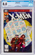Modern Age (1980-Present):Superhero, X-Men #141 (Marvel, 1981) CGC VF 8.0 White pages....