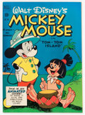 Golden Age (1938-1955):Cartoon Character, Four Color #304 Mickey Mouse (Dell, 1950) Condition: VF/NM....