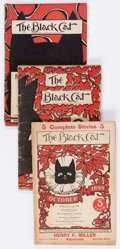 Magazines:Miscellaneous, The Black Cat Group of 19 (Shortstory Publishing Co., 1899-1907)Condition: Average GD/VG.... (Total: 19 Items)