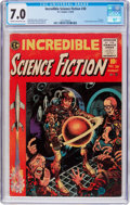 Golden Age (1938-1955):Horror, Incredible Science Fiction #30 (EC, 1955) CGC FN/VF 7.0 Cream tooff-white pages....