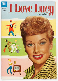 Four Color #535 I Love Lucy (Dell, 1954) Condition: VF/NM