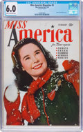 Golden Age (1938-1955):Miscellaneous, Miss America Magazine V1#5 (Miss America Publishing/Marvel/Atlas, 1945) CGC FN 6.0 Cream to off-white pages....