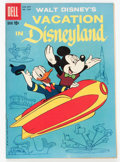 Silver Age (1956-1969):Cartoon Character, Four Color #1025 Vacation in Disneyland (Dell, 1959) Condition: VF/NM....