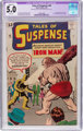 Tales of Suspense #40 (Marvel, 1963) CGC Apparent VG/FN Slight (C-1) 5.0 White pages