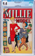 Golden Age (1938-1955):Humor, Millie the Model #5 (Atlas/Marvel, 1947) CGC NM 9.4 Cream to off-white pages....