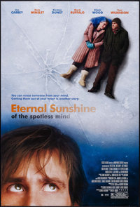 "Eternal Sunshine of the Spotless Mind (Focus Features, 2004). One Sheets (2) (27"" X 40"") Regular and Review St..."