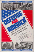 "Movie Posters:War, Defense for America (Paramount, 1941). One Sheet (27"" X 41""). War....."