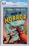 Golden Age (1938-1955):Horror, Tales of Horror #4 (Toby Publishing, 1953) CGC FN+ 6.5 Off-white towhite pages....