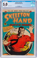 Golden Age (1938-1955):Horror, Skeleton Hand #6 (ACG, 1953) CGC VG/FN 5.0 Off-white pages....