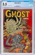 Golden Age (1938-1955):Horror, Ghost #5 (Fiction House, 1952) CGC VG- 3.5 Cream to off-whitepages....