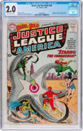 Silver Age (1956-1969):Superhero, The Brave and the Bold #28 Justice League of America (DC, 1960) CGCGD 2.0 Slightly brittle pages....