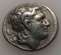 Ancients:Greek, Ancients: THRACIAN KINGDOM. Lysimachus (305-281 BC). AR tetradrachm(16.88 gm). VF....