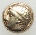 Ancients:Greek, Ancients: IONIA. Phocaea. Ca. 477-388 BC. EL sixth stater or hecte(2.48 gm). About XF....