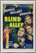 """Movie Posters:Crime, Blind Alley (Columbia, 1939). One Sheet (27"""" X 41""""). Crime.. ..."""