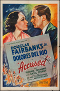 "Movie Posters:Crime, Accused (United Artists, 1936). One Sheet (27"" X 41""). Crime.. ..."