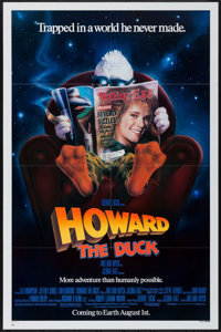 "Howard the Duck (Universal, 1986). One Sheet (27"" X 41"") Advance. Comedy"