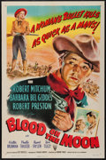 """Movie Posters:Western, Blood on the Moon (RKO, 1948). One Sheet (27"""" X 41""""). Western.. ..."""