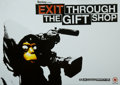 Fine Art - Work on Paper:Print, After Banksy . Exit Through the Gift Shop, c. 2010. Offsetlithograph in colors. 16-1/2 x 23-3/8 inches (41.9 x 59.4 cm)...