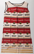 Prints & Multiples, After Andy Warhol (1928-1987). The Souper Dress, (Limited Edition), circa 1968. Color screenprint on cellulose and cotto...