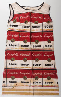 After Andy Warhol (1928-1987) The Souper Dress, (Limited Edition), circa 1968 Color screenprint on c