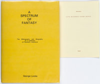 George Locke A Spectrum of Fantasy with Five Hundred Years Hence Signed Limited Edition #14/19 (Ferret... (Total: 2 Item...