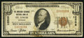 National Bank Notes:Missouri, Saint Louis, MO - $10 1929 Ty. 1 The American Exchange NB Ch. #12506. ...