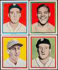 Baseball Cards:Sets, 1935 M120 Detroit Free Press Tigers Complete Set of 18 Plus Extras (Lot of 23).. ...