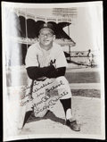 Autographs:Photos, Mickey Mantle Signed Photograph....