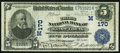 National Bank Notes:Missouri, Saint Louis, MO - $5 1902 Date Back Fr. 590 The Third NB Ch. #(M)170. ...