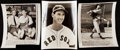 Autographs:Photos, Ted Williams Vintage Photograph Lot of 4 With One Signed. ...
