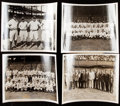 Baseball Collectibles:Photos, New York Yankees Vintage Photographs Lot of 6....