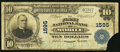 National Bank Notes:Alabama, Mobile, AL - $10 1902 Plain Back Fr. 625 The First NB Ch. # 1595. ...
