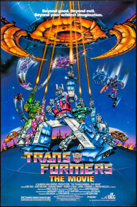 """Transformers: The Movie & Other Lot (DEG, 1986). One Sheets (2) (27"""" X 41""""). Animation. ... (Total: 2 Item..."""