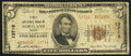 National Bank Notes:Maine, Portland, ME - $5 1929 Ty. 2 First NB Ch. # 13716. ...