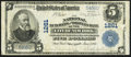 New York, NY - $5 1902 Plain Back Fr. 598 The National Butchers & Drovers Bank Ch. # 1261