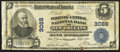 National Bank Notes:Louisiana, New Orleans, LA - $5 1902 Plain Back Fr. 599 The Whitney-Central NB Ch. # 3069. ...