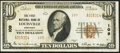 National Bank Notes:Kentucky, Louisville, KY - $10 1929 Ty. 2 The First NB Ch. # 109. ...