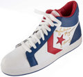 """Basketball Collectibles:Others, Julius """"Dr. J"""" Erving Signed Converse Basketball Shoe. . ..."""