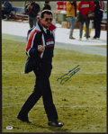 Football Collectibles:Uniforms, Mike Ditka Signed Oversized Photograph. . ...