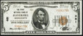 National Bank Notes:Massachusetts, Haverhill, MA - $5 1929 Ty. 1 The First NB Ch. # 481. ...
