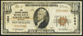 National Bank Notes:Michigan, Coldwater, MI - $10 1929 Ty. 1 The Southern Michigan NB Ch. # 1924. ...