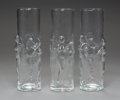 Art Glass:Other , Twelve Libby La Femme Tall Glasses, circa 1978. 8-3/4 incheshigh (22.2 cm). ... (Total: 12 Items)