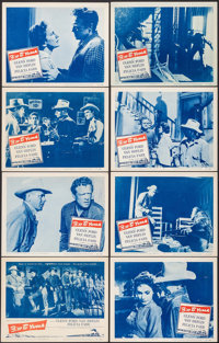 """3:10 to Yuma (Columbia, 1957). Lobby Card Set of 8 (11"""" X 14""""). Western. ... (Total: 8 Items)"""