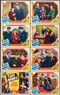 "Movie Posters:Crime, Easy Money (Invincible, 1936). Lobby Card Set of 8 (11"" X 14"").Crime.. ... (Total: 8 Items)"